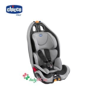 Ghế ngồi ô tô Chicco Gro-up 123 màu bạc