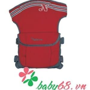 Địu em bé 4 vị trí Naforye N99137 màu đỏ