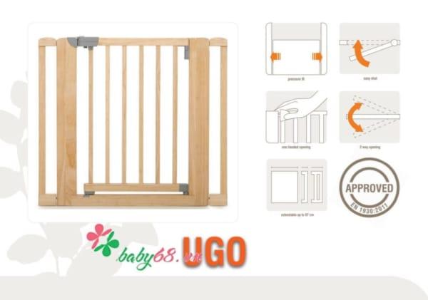 Cửa chặn Ugo không cần khoan tường