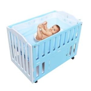 Cũi Le Lumber Folding Crib BC11