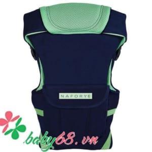 Địu Hug Helper - N99504 xanh ngọc-đen