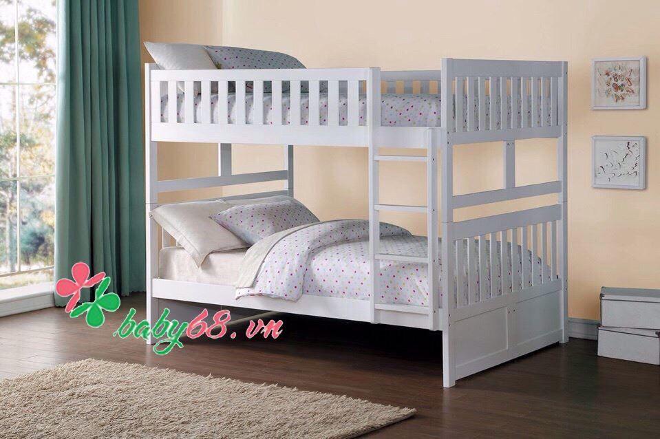 Giường hai tầng BB011 (trên 1m4 dưới 1m4)