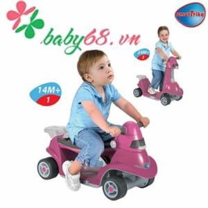 Xe chòi chân thông minh AIO Smart-Trike màu tím