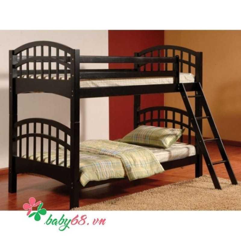 Giường tầng Bella BB126 màu đen