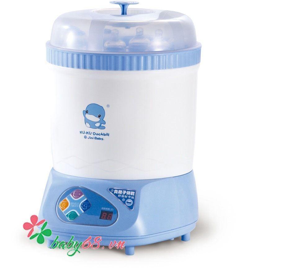 Máy tiệt trùng bình sữa và sấy khô đa năng KuKu KU9019