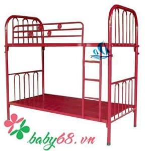 Giường tầng ngang 1m2 GTTH-01