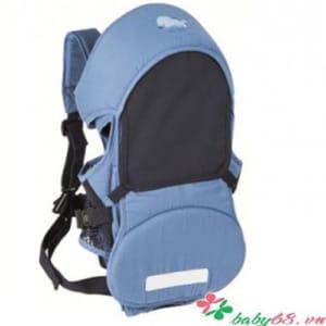 Địu em bé 3 trong 1 Kuku 2152 màu xanh