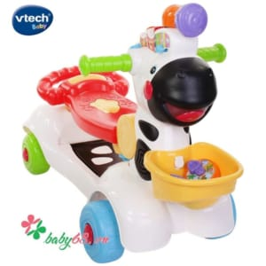 Xe scooter ngựa vằn 3 trong 1 Vtech
