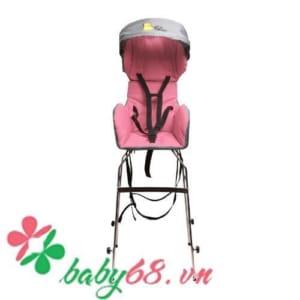 Ghế ngồi xe máy Beesmart XLS01 màu hồng