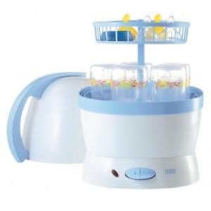 Máy tiệt trùng bình sữa và hấp thức ăn 2 trong 1 Nuk 251010