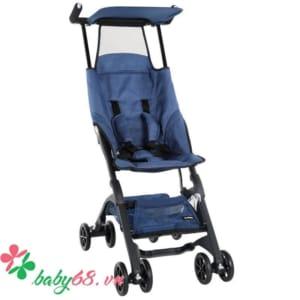 Xe đẩy em bé Pockit màu jean xanhD340E01-WZQZ