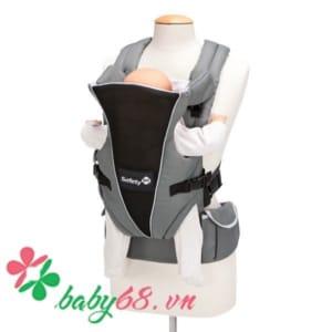 Địu em bé Uni-T màu xanh xám Safety 014460
