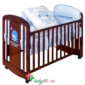 Giường gỗ Kuku Ku6023