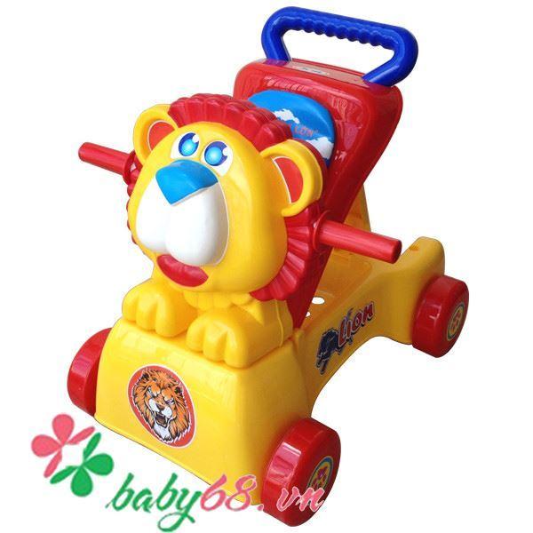 Xe tập đi, xe chòi chân sư tử K2