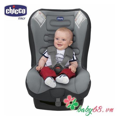 Ghế ngồi ô tô từ sơ sinh Chicco Eletta xanh ghi