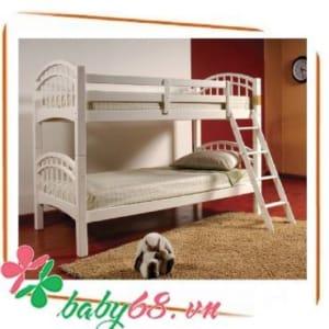 Giường tầng Bella BB226 màu trắng