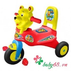 Xe đạp ba bánh L7 thổi con gấu