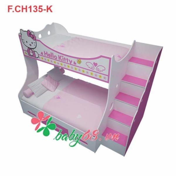 Giường tầng trẻ em Hello Kitty GT04