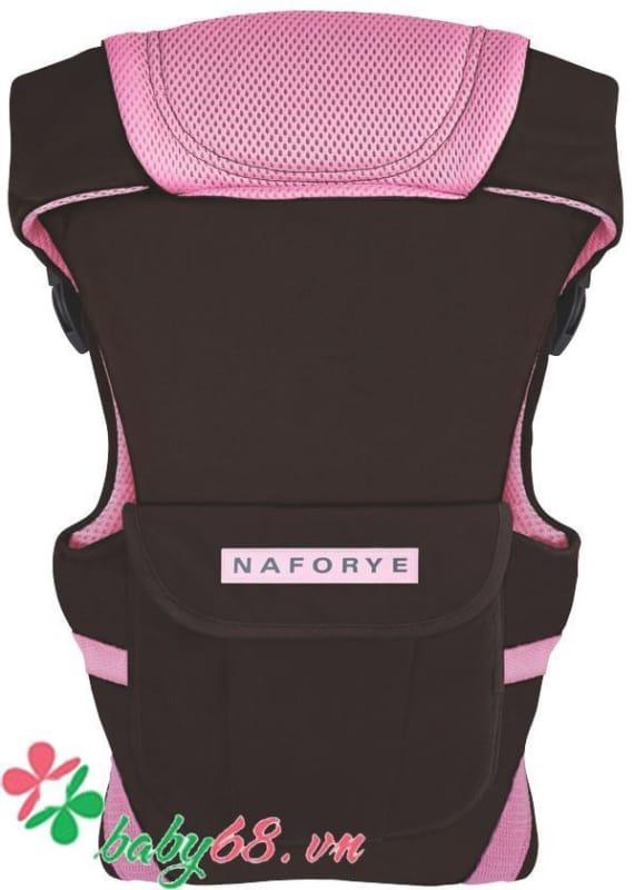Địu em bé Naforye màu xanh (4 tư thế)