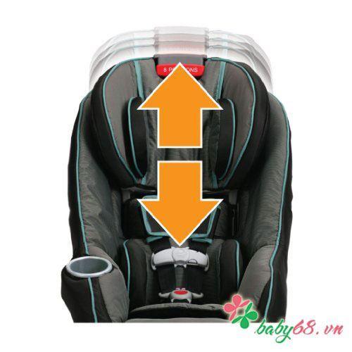 Ghế xe hơi 2 giai đoạn SIZE4ME GC-8W500PCE