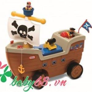 Xe chòi chân mô hình tàu cướp biển - Play n Scoot Pirate Ship (LT-622113MP)