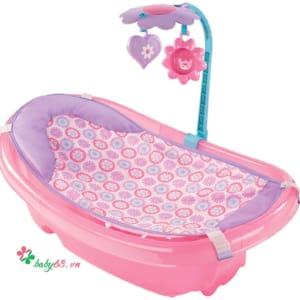Chậu tắm có lưới đỡ và thanh đồ chơi Summer SM09250