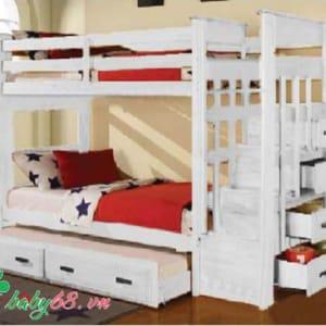 Giường ba tầng Acme BB010 màu trắng