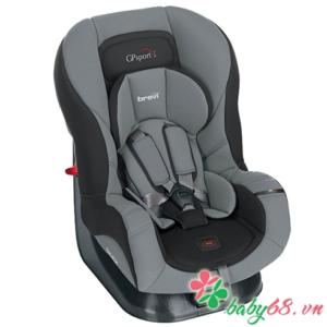 Ghế ngồi ô tô cho bé Brevi GP Sport (màu xám đen)