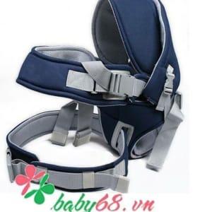 Địu em bé 6 tư thế Baby Carrier CA5001 màu xanh