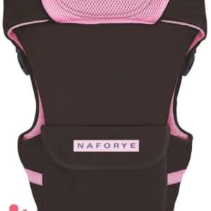 Địu em bé Naforye màu nâu (4 tư thế)