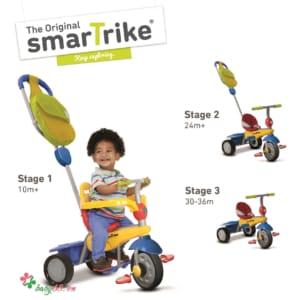 Xe cảm ứng Breeze 3 in 1 Smart-Trike colorful