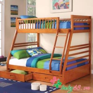 Giường tầng trẻ em Logan Honey BB129
