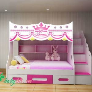 Giường tầng trẻ em công chúa GT01