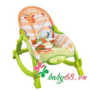 Ghế rung Konig Kids có nhạc và đồ chơi KK63560
