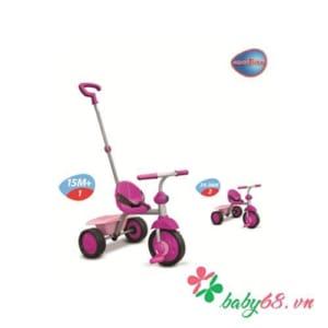 Xe ba bánh Fun 2 in 1 hồng Smart-Trike