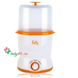 Máy hâm sữa 2 bình cổ rộng đa năng cao cấp Fatzbaby FB3019SL