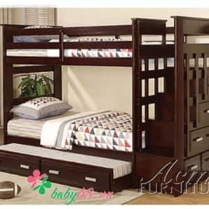 Giường ba tầng Acme BB 010 màu nâu