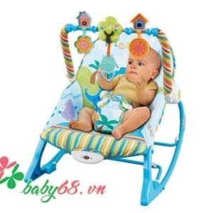 Ghế rung Konig Kids có nhạc và đồ chơi KK63562