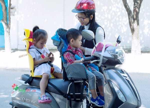 Ghế ngồi sau xe máy Beesmart