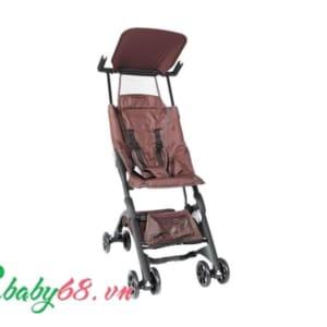 Xe đẩy em bé Pockit màu nâu cafe D340E01-CCLT