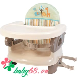 Ghế ngồi ăn cho bé Deluxe Summer Infant màu xám