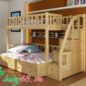 Giường tầng gỗ BB451