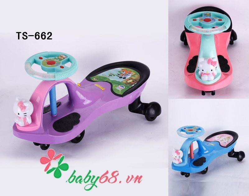 Xe lắc trẻ em VBC-TS662