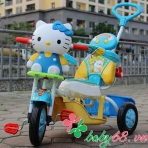 Xe đẩy ba bánh Kitty CL02