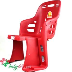 Ghế ngồi xe đạp Howawa cho trẻ em màu đỏ
