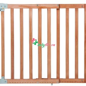 Cửa chặn an toàn bằng gỗ màu tự nhiên Safety First Pressure XL! 10100