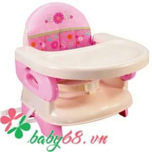 Ghế ngồi ăn cho bé Deluxe Summer Infant màu hồng