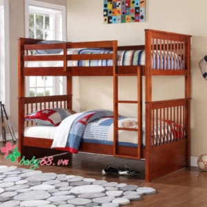 Giường hai tầng BB013 (trên 1m2 dưới 1m2)