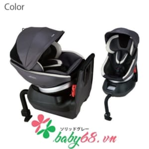 Ghế ô tô Neroom xoay combi 360EG NC-570 màu chì đen