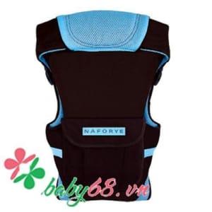 Địu Hug Helper - N99500 đen-xanh dương